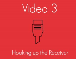 Hooking up the Receiver Video 3